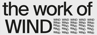 Text overlay The Work of Wind