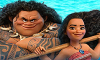 Characters from the movie Moana