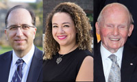 Three alumni awards of distinction recipients