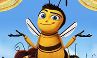 Animated shrugging bee