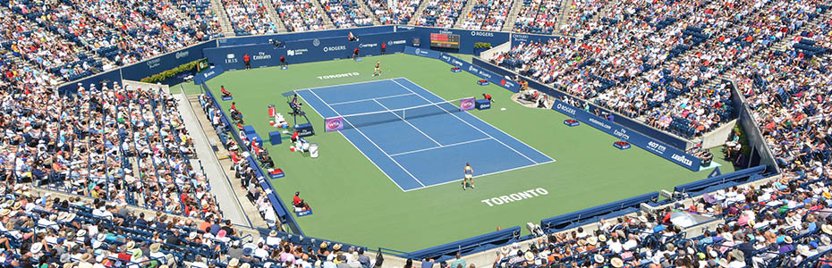 Aviva Centre during the Rogers Cup