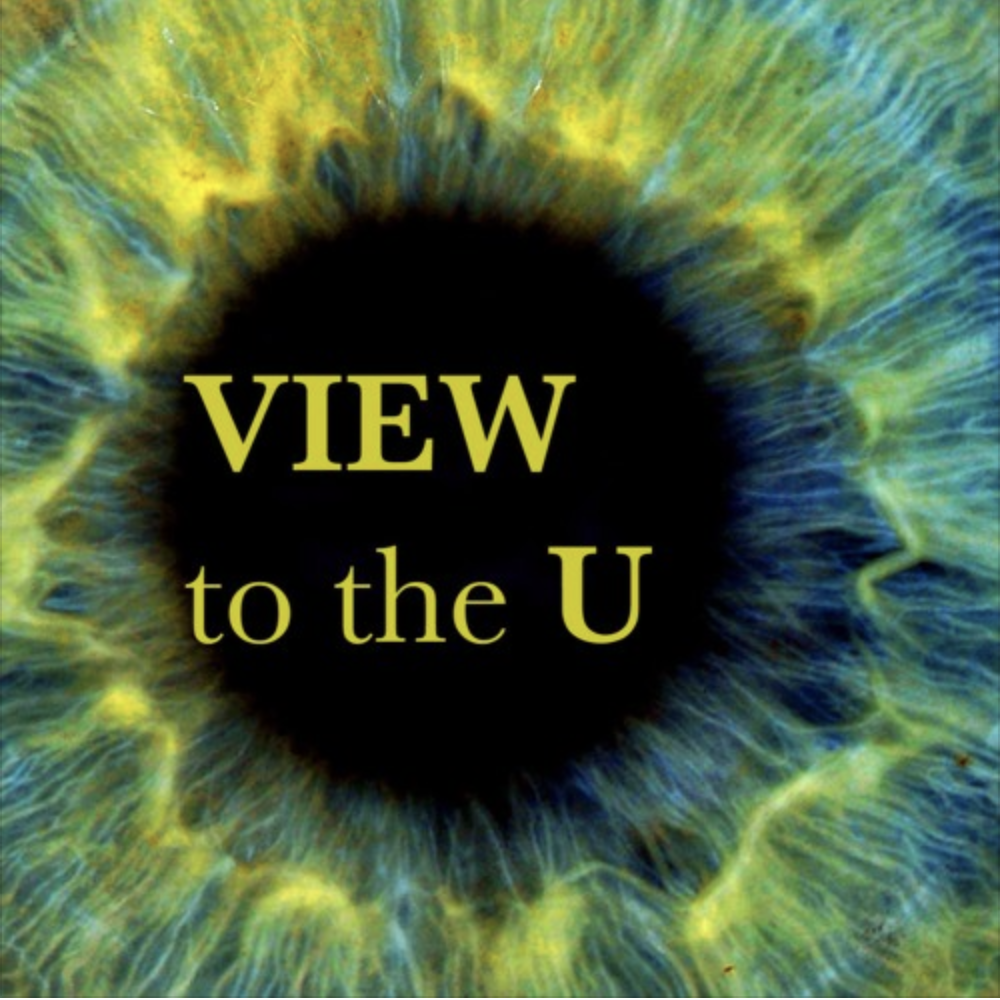View to the U podcast visual