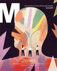 Cover of spring 2019 M Magazine