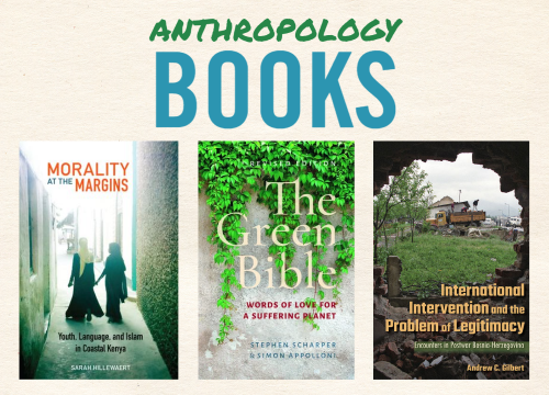 various book covers by UTM Anthropology authors