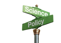 science policy street sign