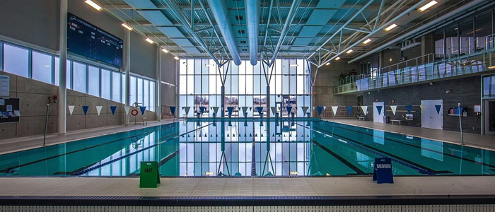 Full range photo of the UTM Pool
