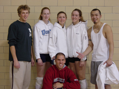 Humber Coed Volleyball Tournament Champions