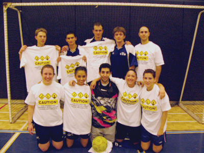 UTM Coed Indoor Soccer Tournament Champions