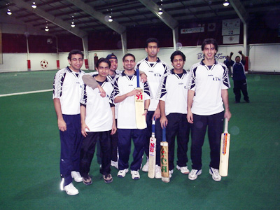 Sheridan College Indoor Cricket Tournament Champions
