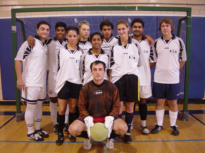 Humber College Coed Indoor Soccer Tourney Champions