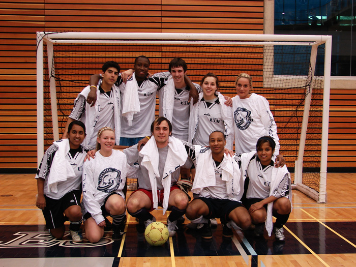 University of Toronto Mississauga Coed Indoor Soccer Tourney Champs