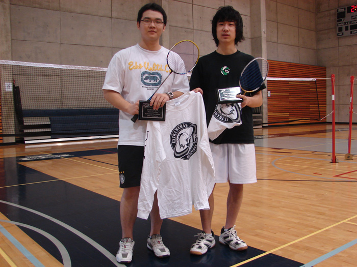 C. Hui & L. Chen (UTM) Men's Doubles