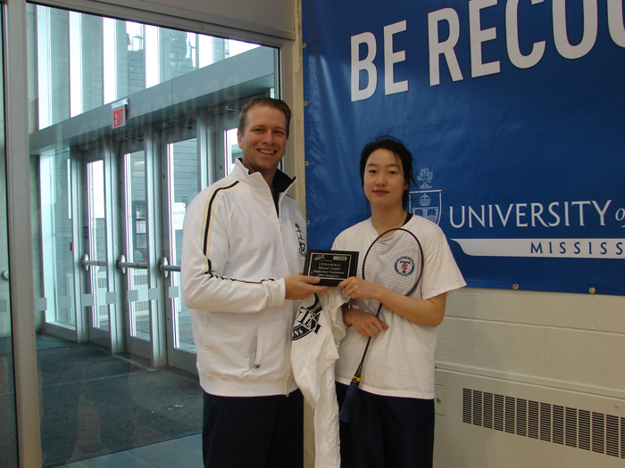 Angel Ai (UTM) Women's Singles
