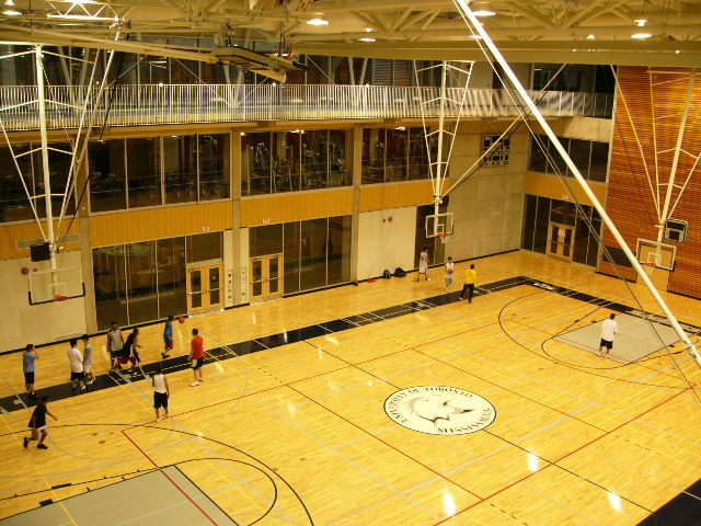 Gym from above