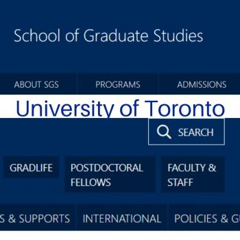 U of T School of Graduate Studies