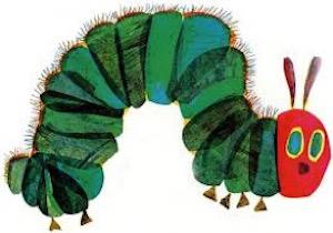 caterpillar drawing