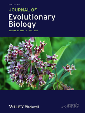 Journal of Evolutionary Biology cover