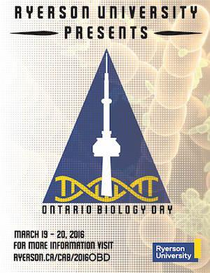 Ontario Biology Day poster