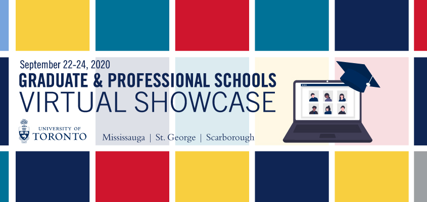 Graduate and professional schools virtual showcase