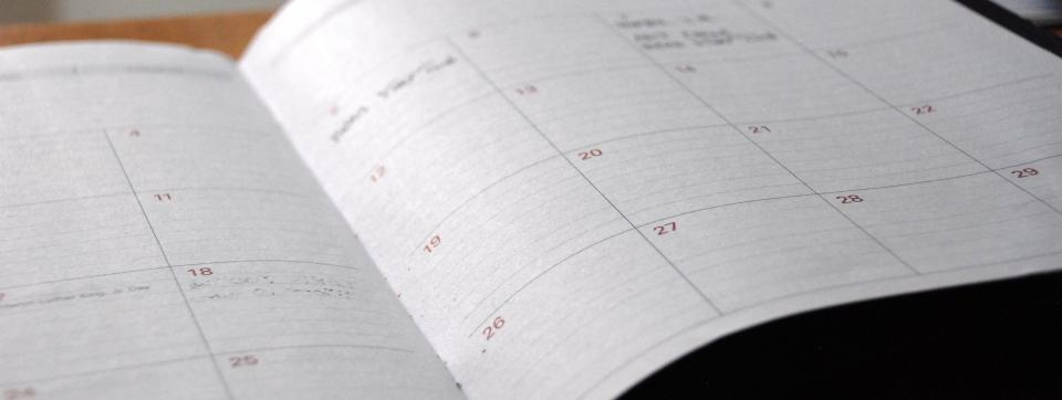 appointments day planner