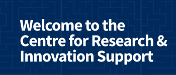 welcome to the centre for research and innovation support