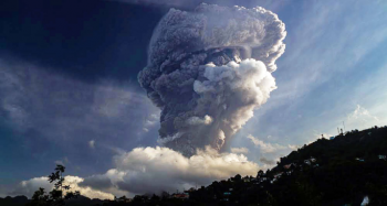 Dr. Paul Ashwell Assistant Professor, Department of Chemical and Physical Sciences, comments on the La Soufriere volcano erupting in St. Vincent & the Grenadines in an interview with Meteorologist Ross Hall, Global News.
