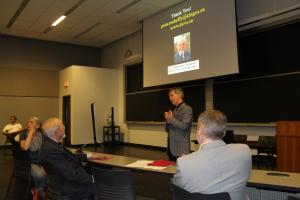Professor Peter Mahaffy Speaks at the E.A. Robinson Lecture
