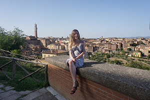 Emily Webb photo in Siena