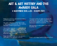 Art & Art History and DVS Awards Gala poster