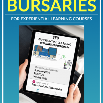 Experiential Learning Bursaries