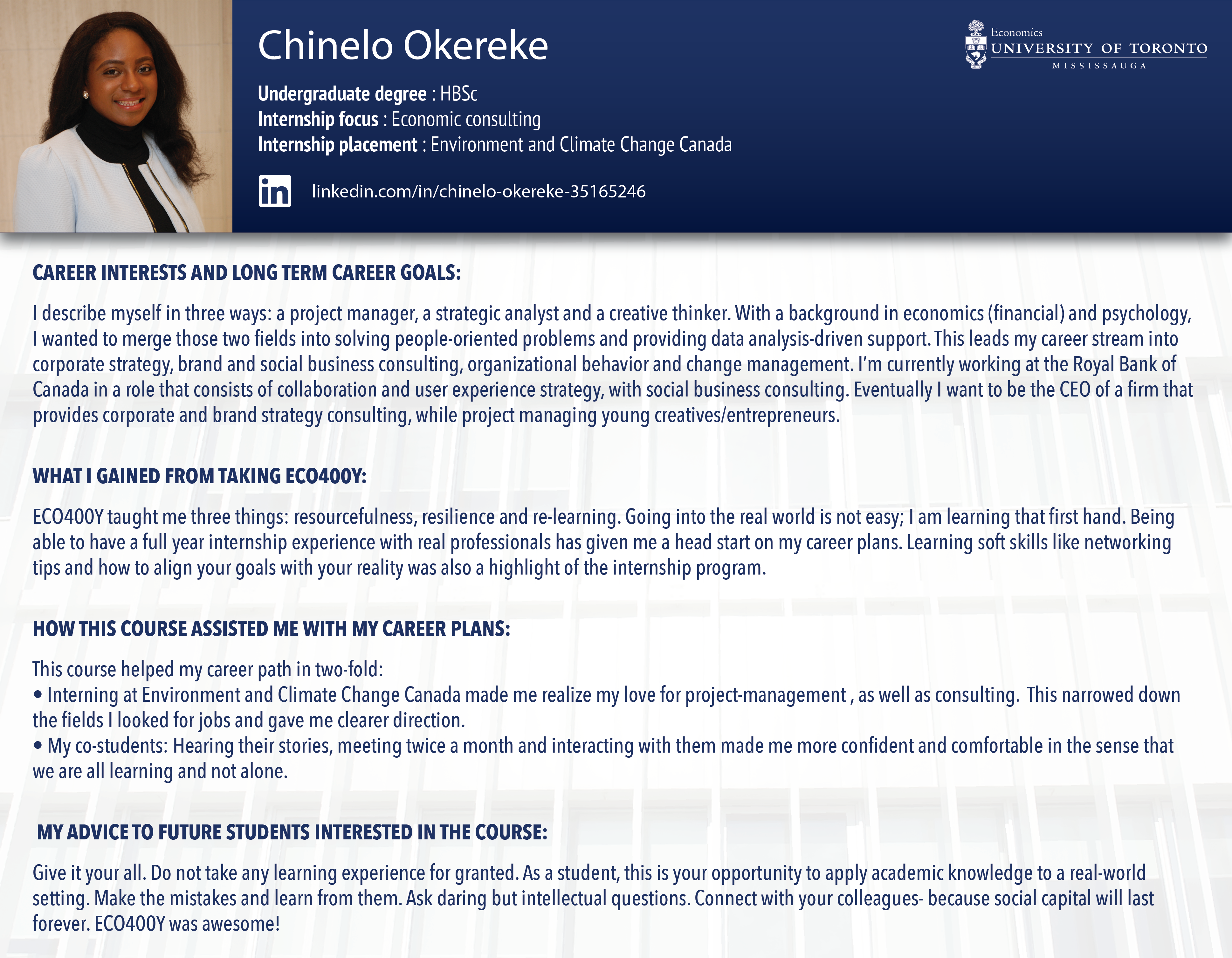 new profile- chinelo