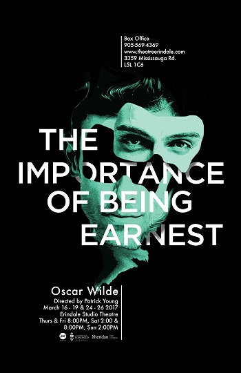 TE Poster for The Importance of Being Earnest