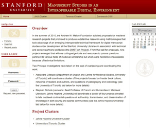 Picture of Prof. Gillespie's Digital Project Website