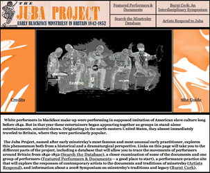 Picture of Prof. Johnson's Digital Project Website