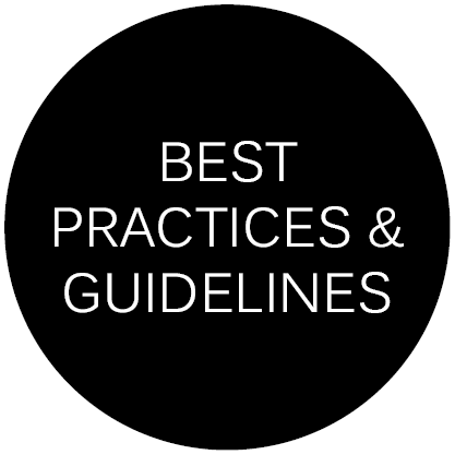 Best Practices & Guidelines button