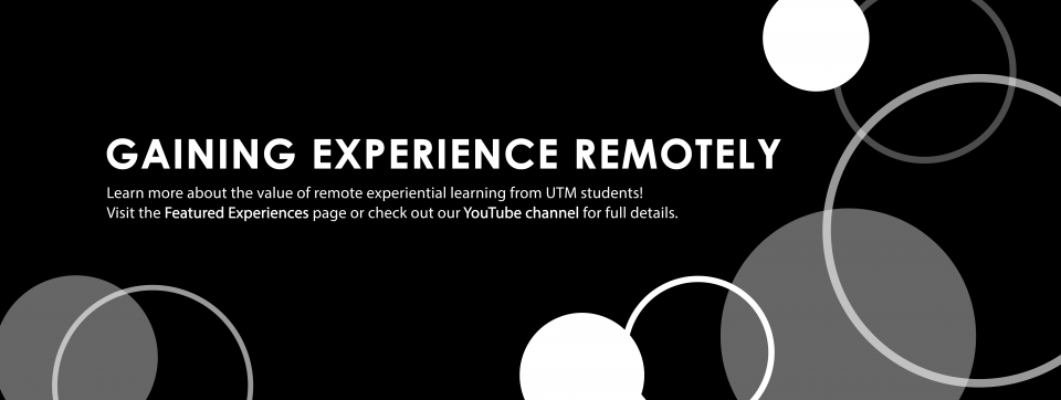 Gaining Experience Remotely