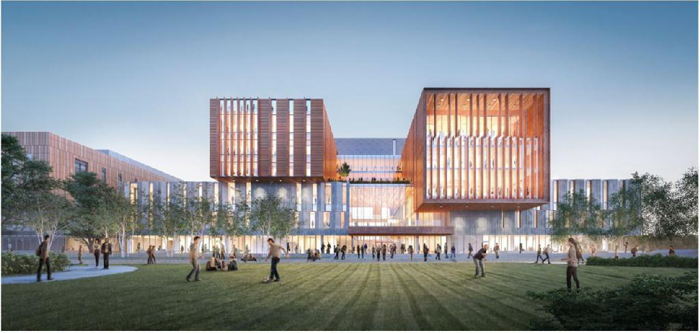 rendering of north building phase 2
