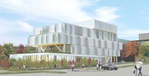 Artist's rendering of the Health Sciences Complex