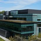 Instructional Centre - Green roof side view