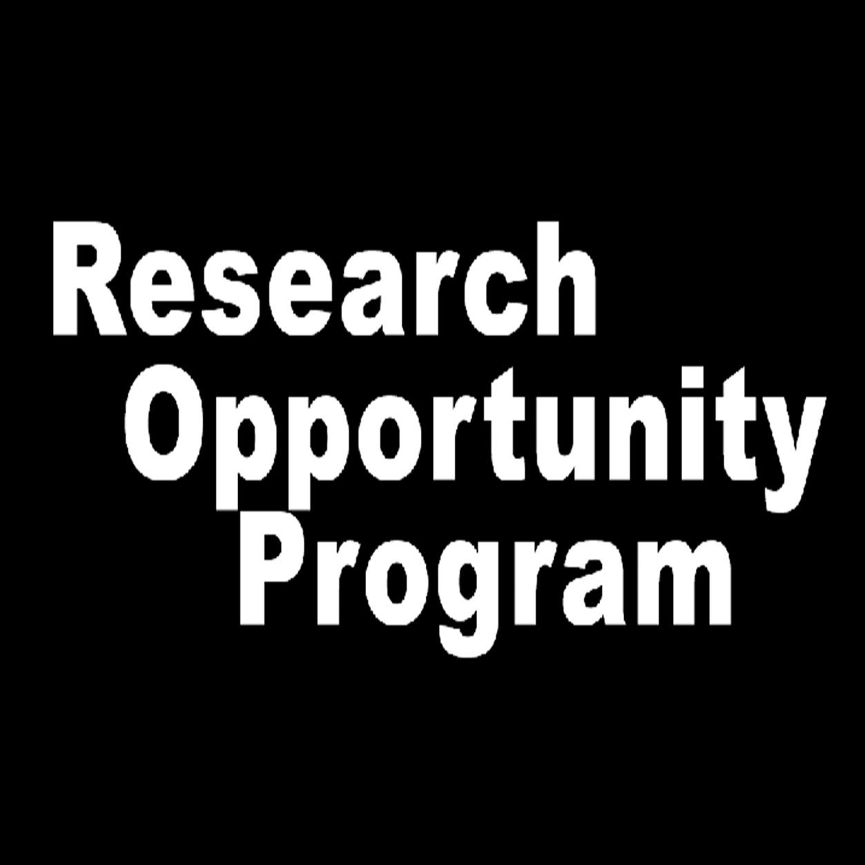 GGR399Y5 Research Opportunity Program