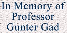 Gunter Gad Scholarship Award