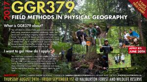 GGR379 Field Methods in Physical Geography
