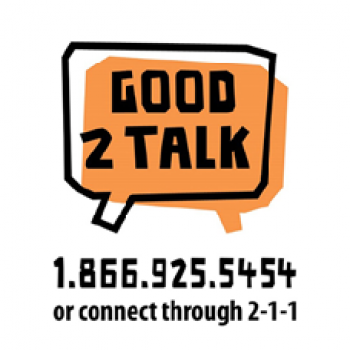 Good 2 Talk Helpline