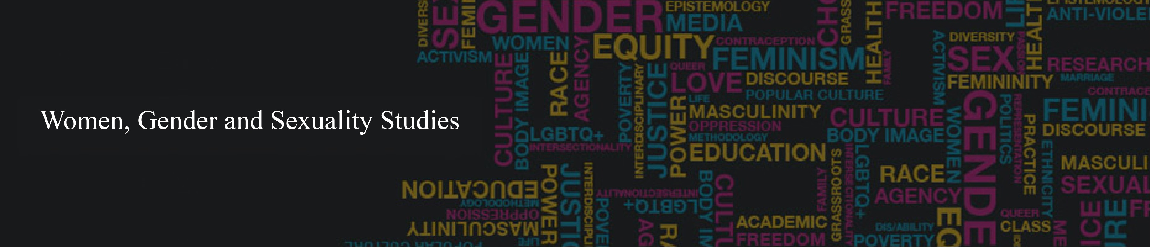 Women, Gender and Sexuality Studies