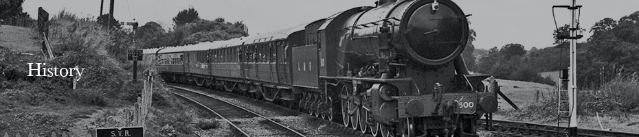 History image picture of a black and white train