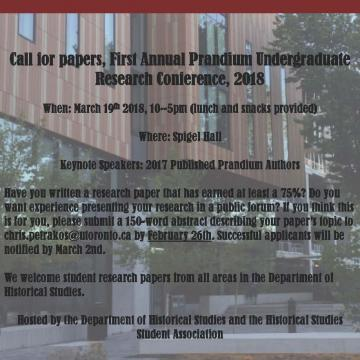 Poster - Prandium Call for Papers