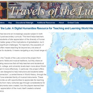 Travels of the Lute Website