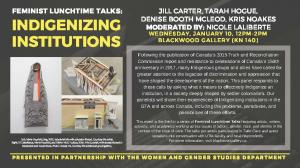 Poster - Indigenizing Institutions