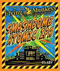 Flying Monkey Smashbomb Atomic IPA logo