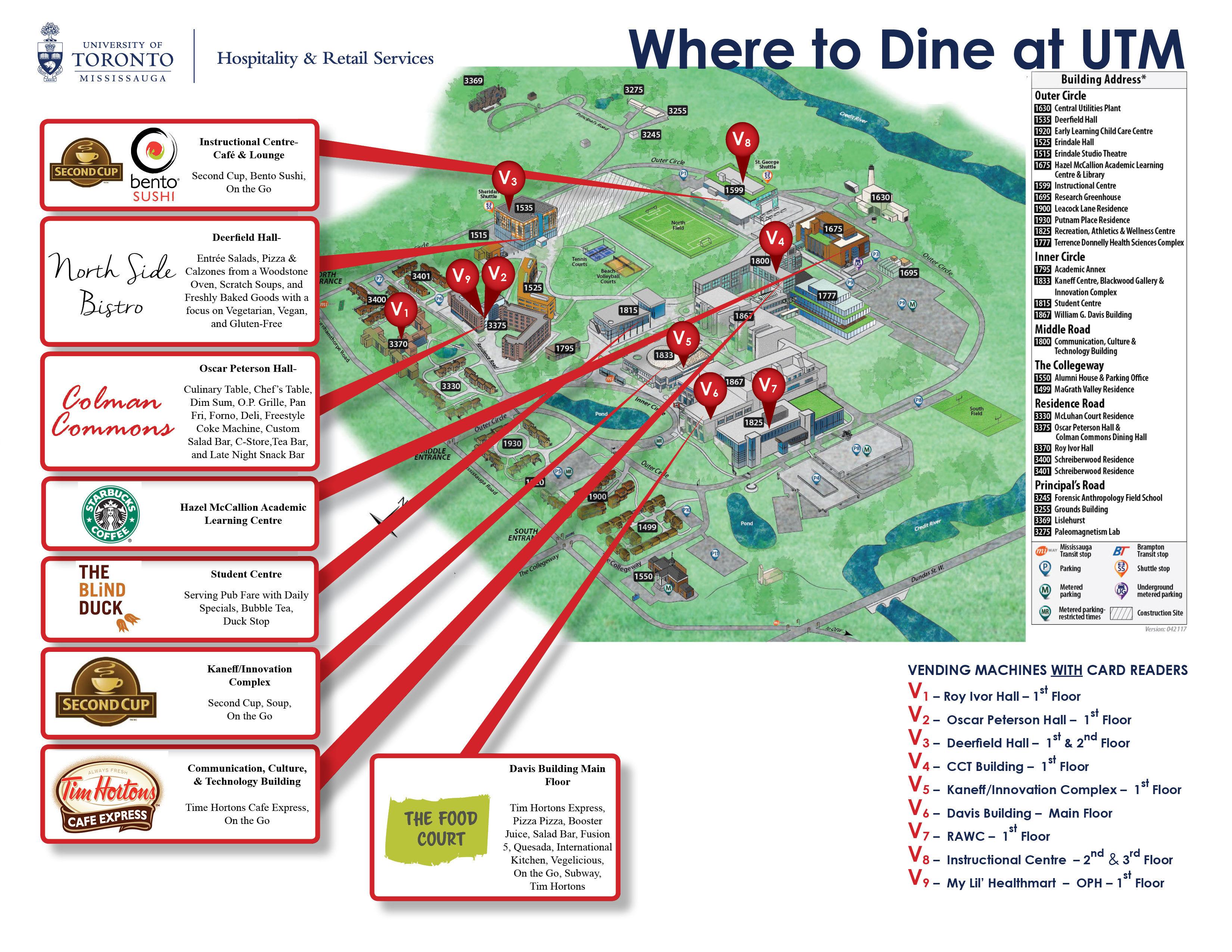 Where to Dine at UTM Campus